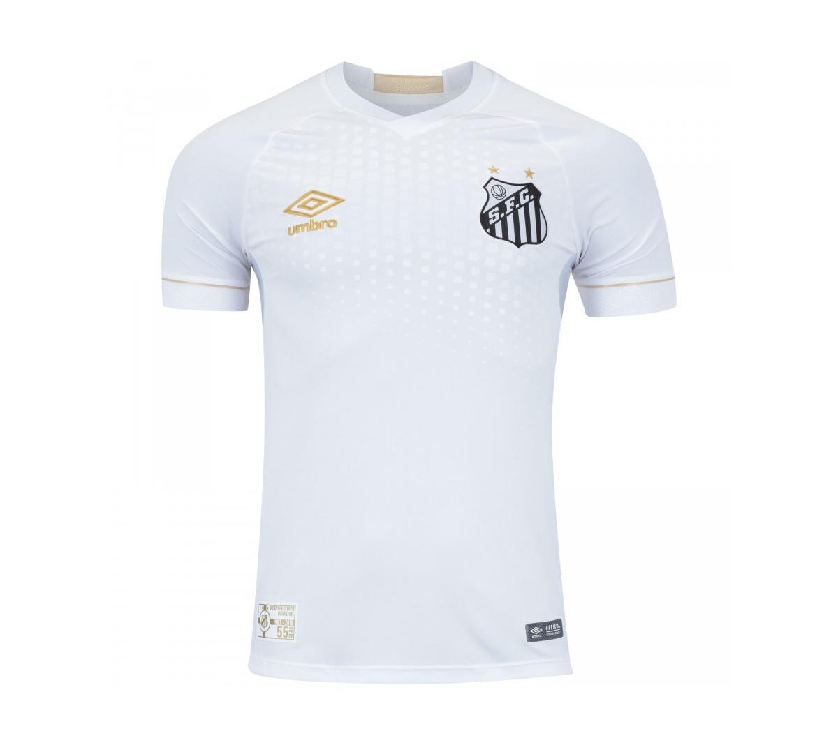 4bf91899cb Camisa Umbro Santos I Oficial 2018 Camisa Umbro Santos I Oficial 2018 ...