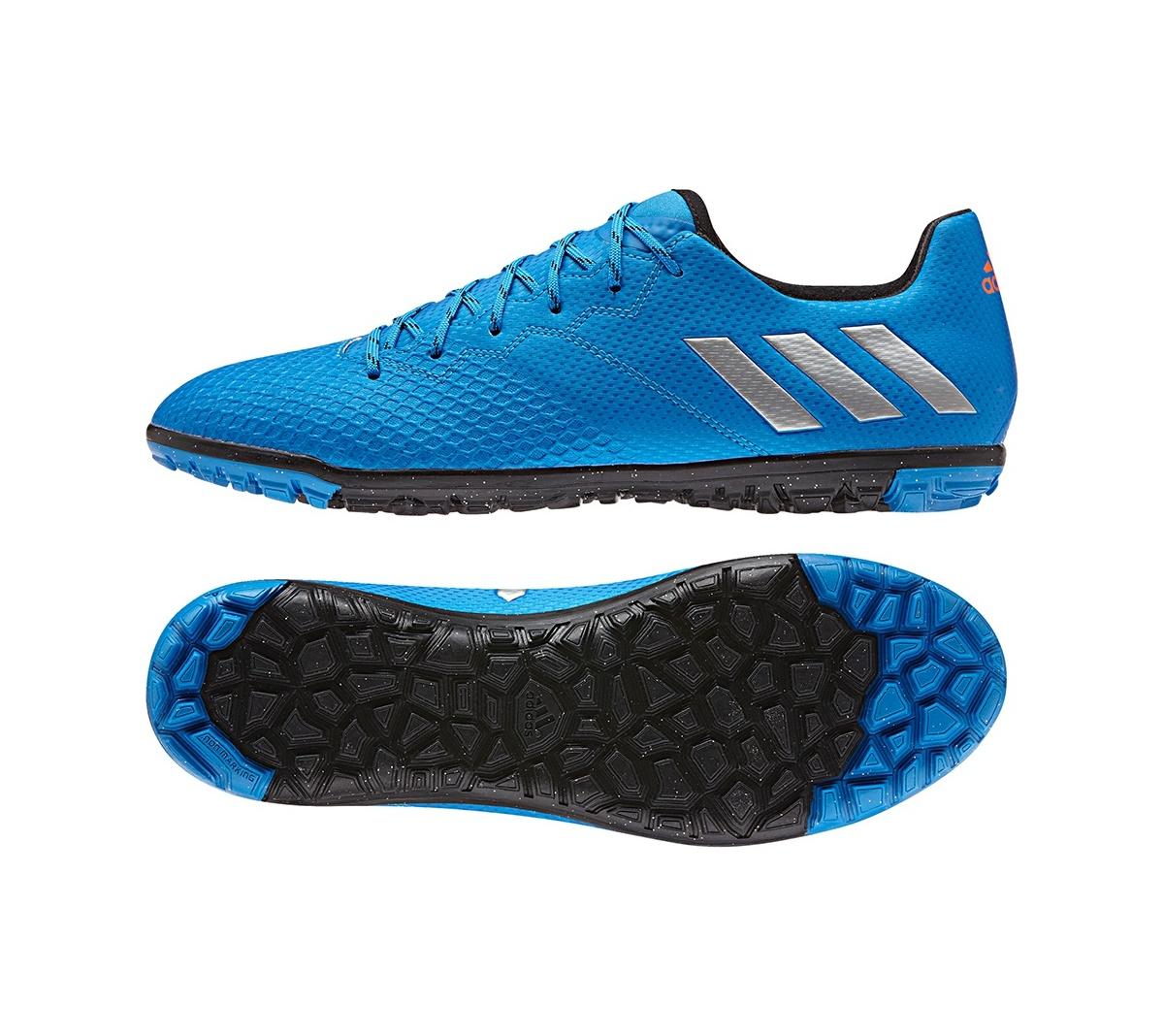 Chuteira Adidas Messi 16.3 Society Azul Royal - Mundo do Futebol 10658b43b5dba