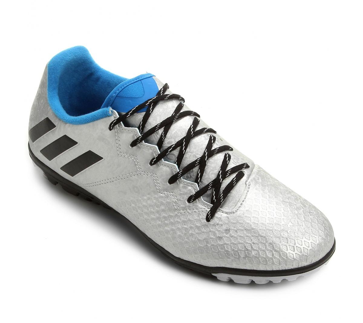 Chuteira Adidas Messi 16.3 Society Cz Az - Mundo do Futebol 2fb33dff34379