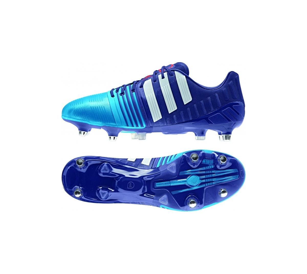 2551d43cd6b0d Chuteira Adidas Nitrocharge 1.0 SG Campo - Mundo do Futebol