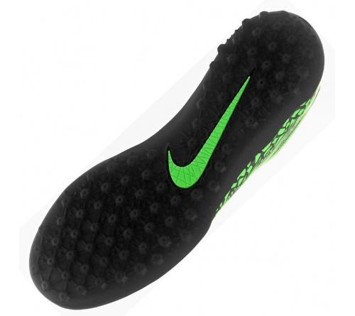 Chuteira Nike Hypervenom Phelon II TF Verde com Preto
