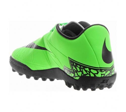 Chuteira Nike Hypervenom Phelon II TF Verde com Preto . 45366ed855055