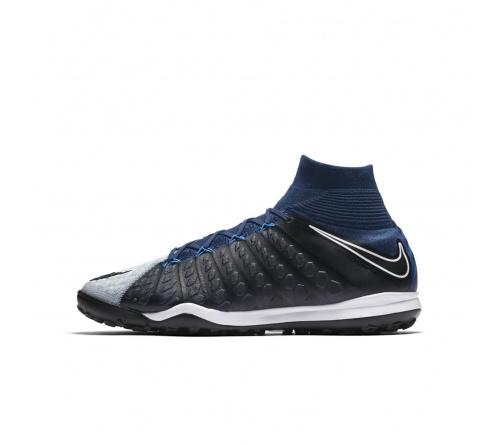 Chuteira Nike HypervenomX Proximo II Society Azul marinho