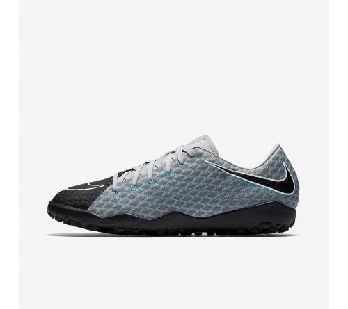Chuteira Nike Hypervenomx Phelon III Society Preto com Cinza
