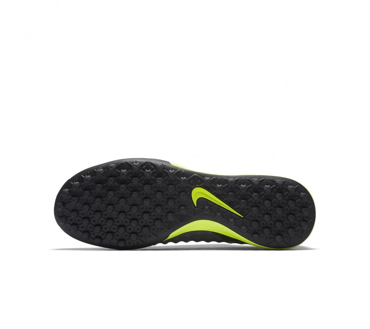 Chuteira Nike Magistax Finale Society New Cinza com Verde - Mundo do ... c227bb123dc81