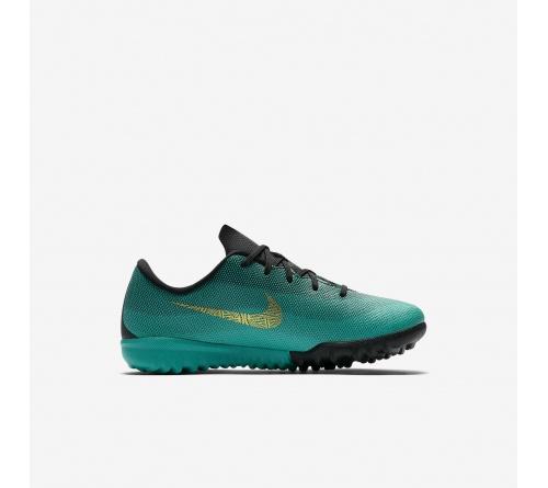 Chuteira Nike Mercurial Jr Vaporx 12 TF Cr7 Infantil