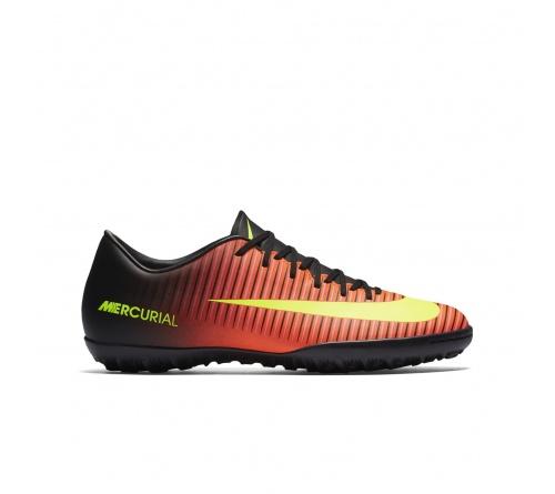 Chuteira Nike Mercurial Victory VI Society Laranja com Preto