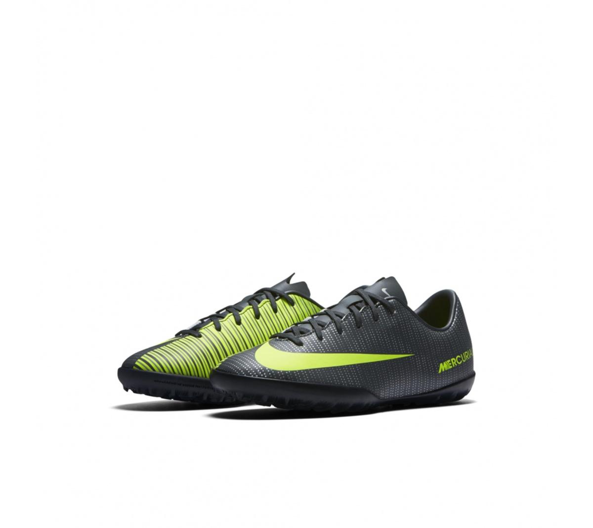 Chuteira Nike MercurialX Vapor 6 CR7 Society Infantil