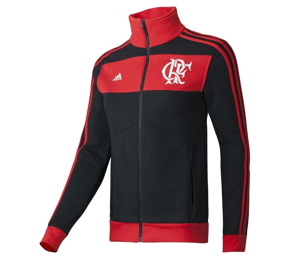 f2a07f814aa95 Jaqueta Flamengo Adidas TRK Top Feminina Jaqueta Flamengo Adidas TRK Top  Feminina ...