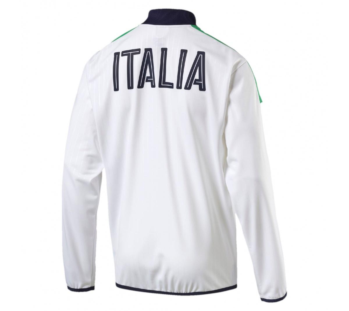 0b5d94e85c Jaqueta Itália Puma Home - Mundo do Futebol