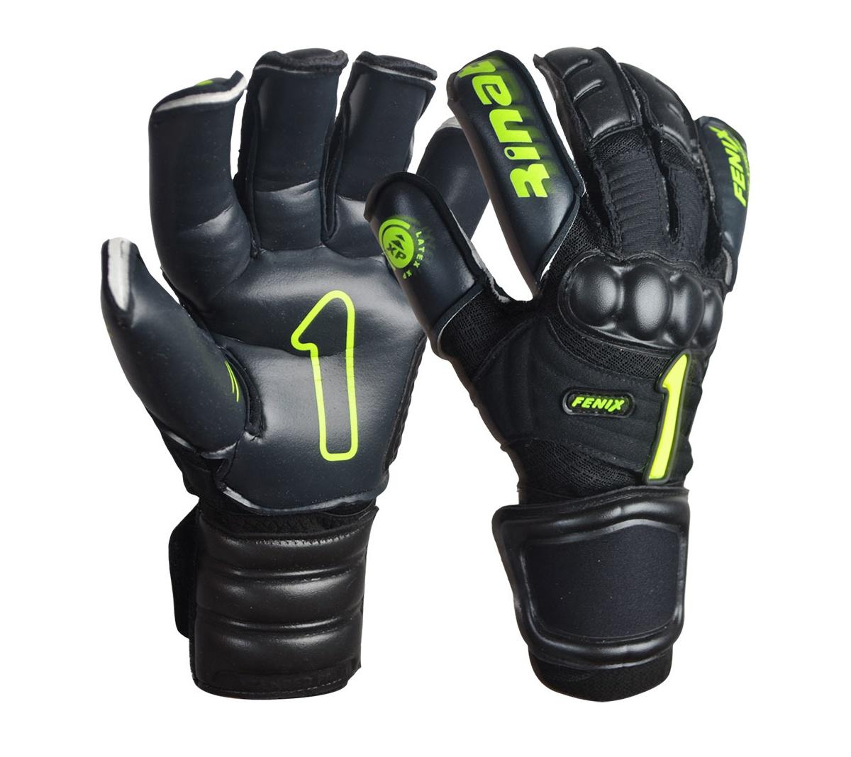 Luva Rinat Fenix Pro XP Pt Vdl - Mundo do Futebol 4fa4aa2b2f4ff