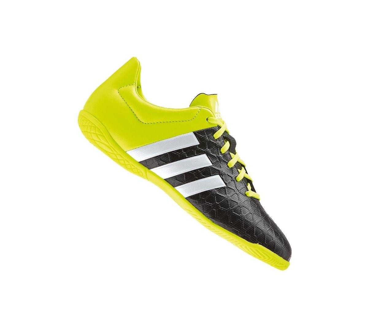 a542870337207 Tênis Adidas Ace 15 4 Futsal Infantil - Mundo do Futebol
