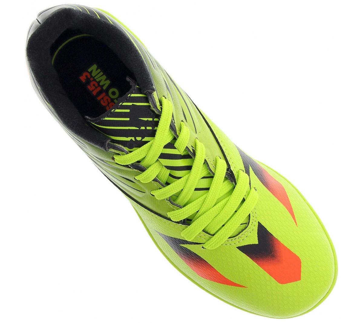 bf2e2c0819207 Tênis Adidas Messi 15.3 In Futsal Infantil - Mundo do Futebol