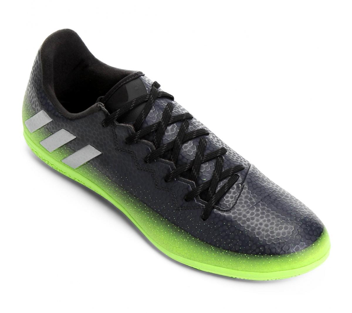 cb3a8cc0ec Tênis Adidas Messi 16.3 Futsal Pt Vd - Mundo do Futebol