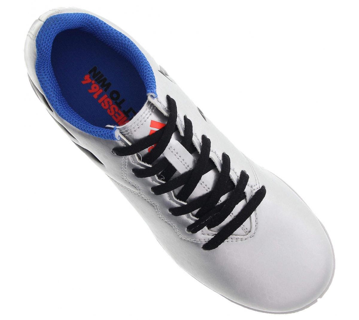 Tênis Adidas Messi 16.4 Futsal JR - Mundo do Futebol 8c368761c8be7