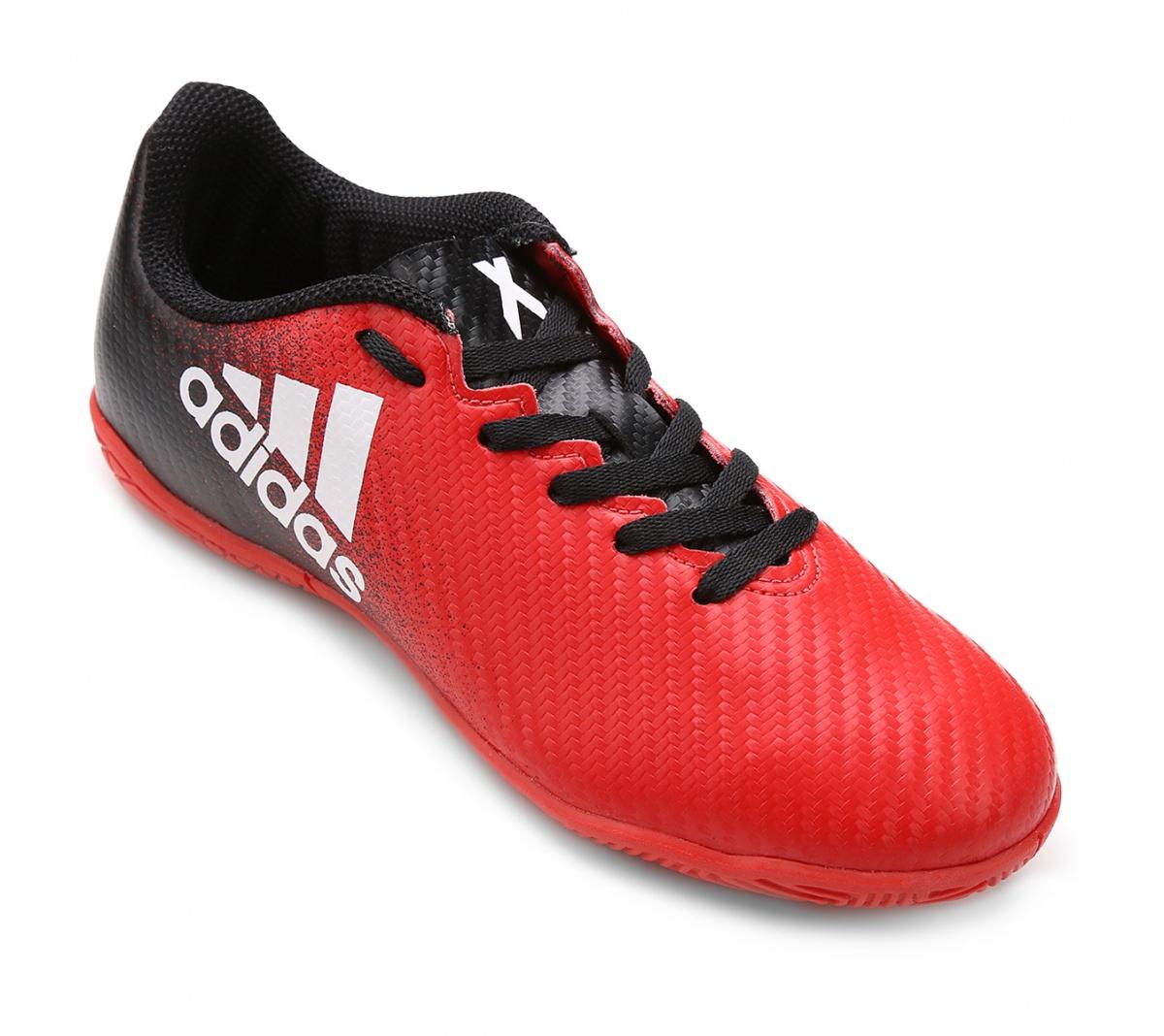 Tênis Adidas X16.4 Futsal Infantil - Mundo do Futebol 55956a03d72a6