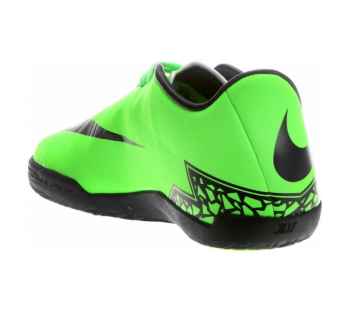 Tênis Nike Hypervenom Phelon II IC Verde com Preto