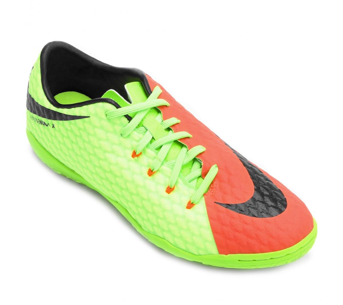 Tênis Nike HypervneomX Phelon III Futsal