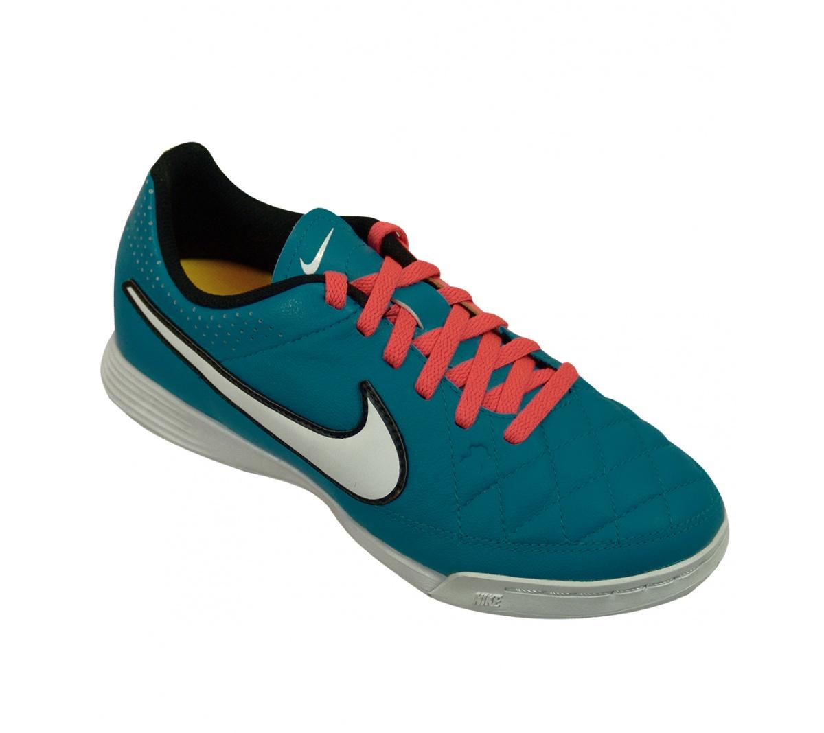 e236235c080dc Tênis Nike Tiempo Genio Leather Futsal Infantil - Mundo do Futebol