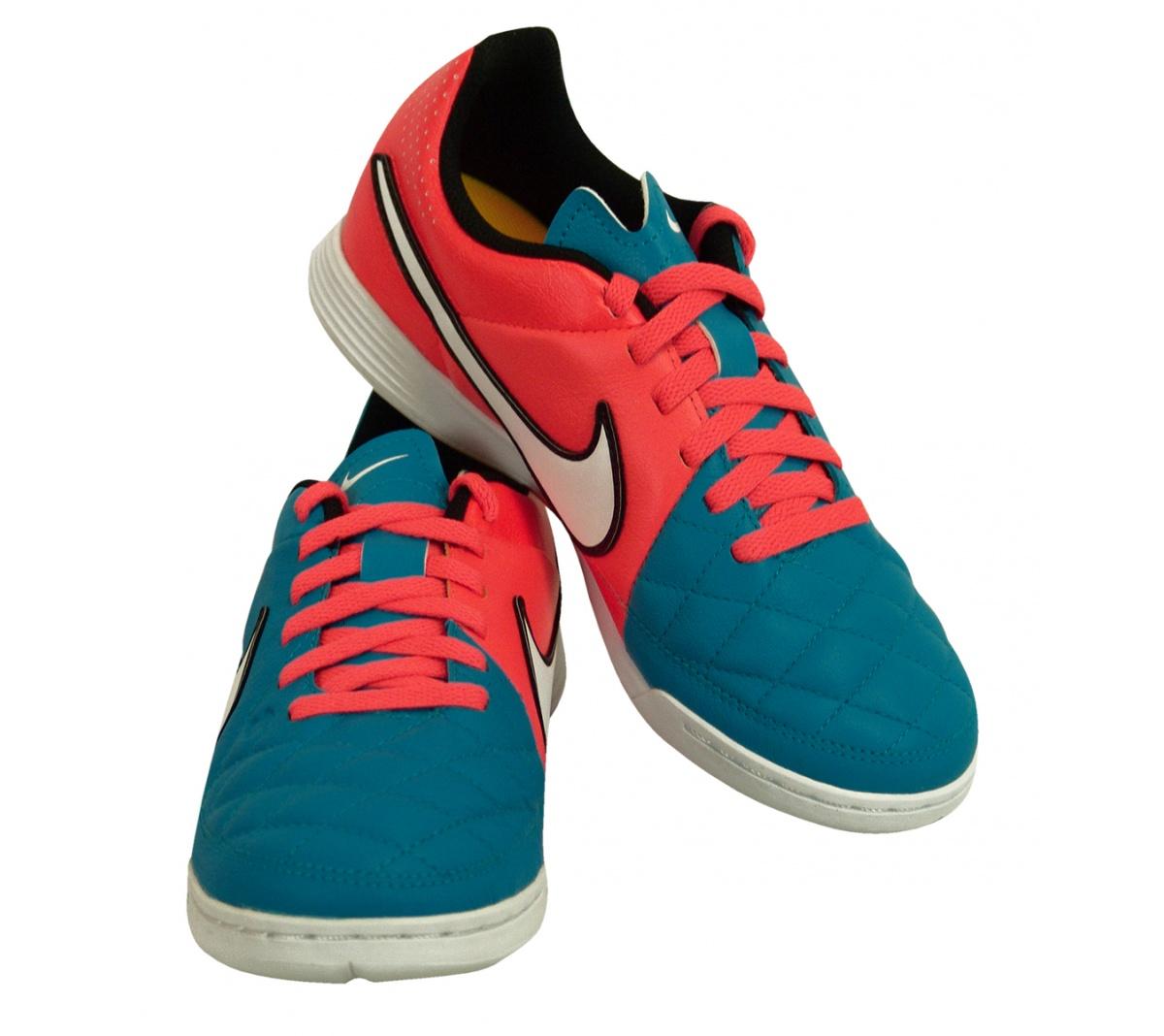 Tênis Nike Tiempo Genio Leather Futsal Infantil - Mundo do Futebol 1853d143df05f