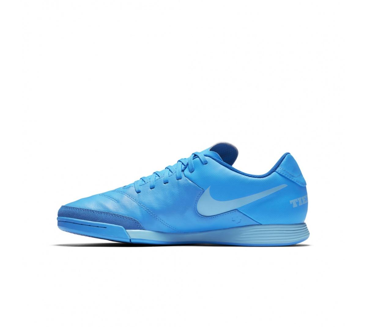 Tênis Nike TiempoX Gênio Leather Futsal - Mundo do Futebol 0c4e22ff5d445