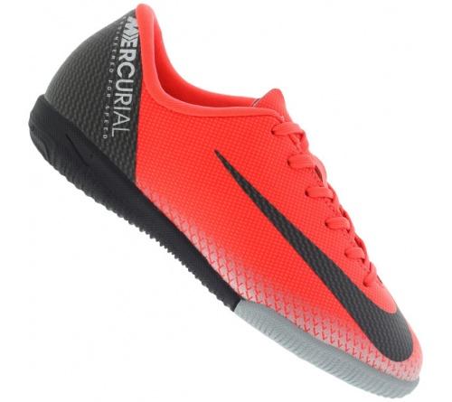 Tênis Nike Vapor 12 CR7 IC Infantil.