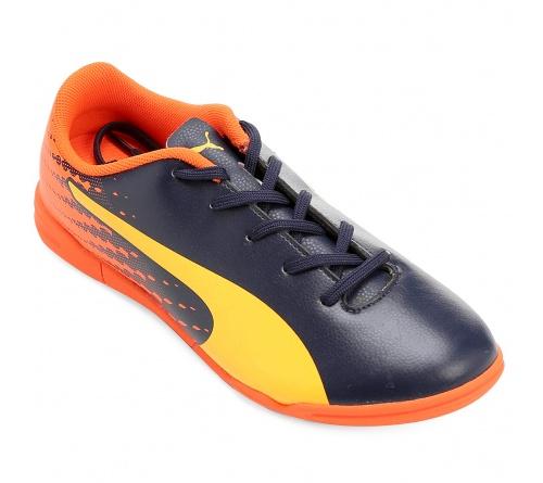 Tênis Puma Evospeed Tricks 17.5 Futsal Infantil