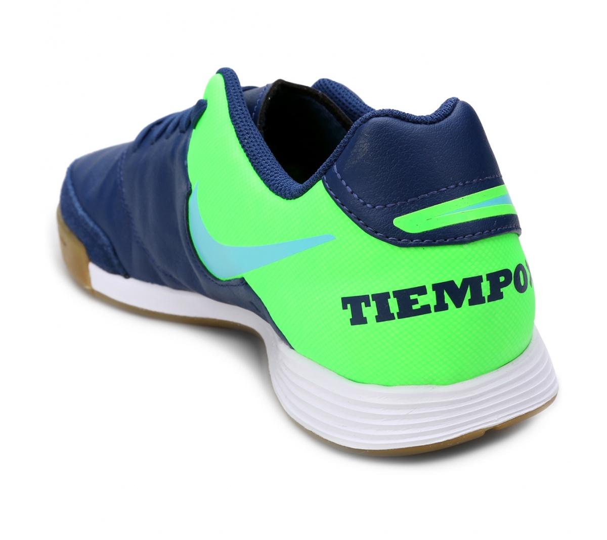 Tênis TiempoX Gênio II Leather Futsal - Mundo do Futebol 790e8cf5a51d5