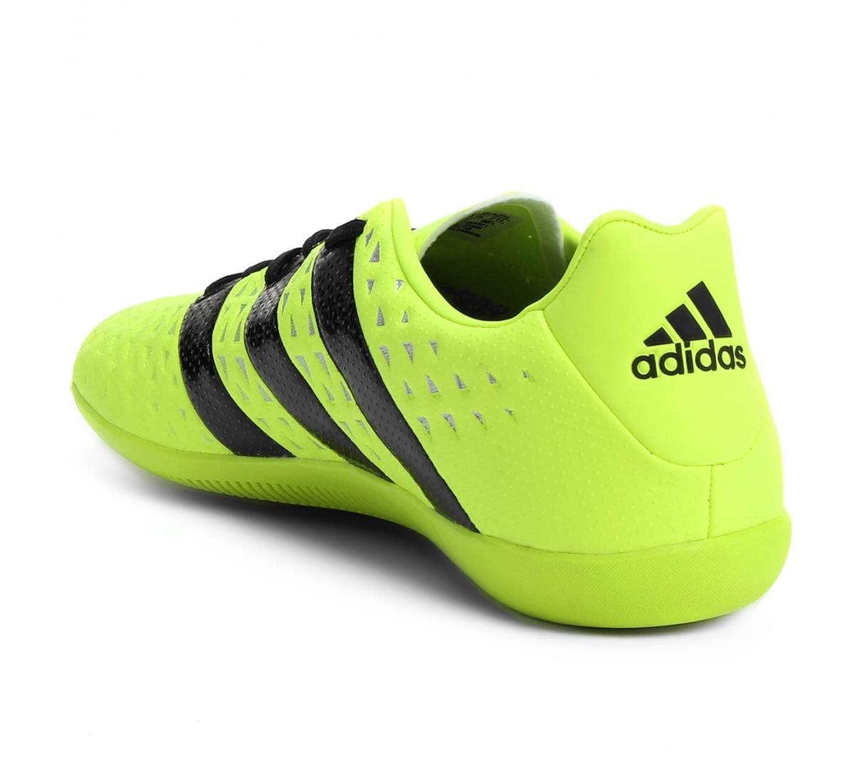 6ae3cd3202 Tenis Adidas Ace 16.3 Futsal - Mundo do Futebol